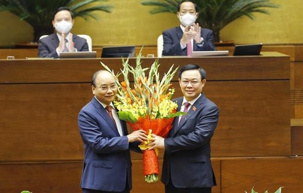 Nguyen Xuan Phuc elected as State President for 2021-2026 hinh anh 2