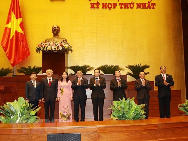 Vice State President, Chief Justice of Supreme People's Court, Prosecutor General of Supreme People's Procuracy elected hinh anh 1