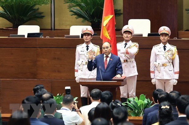 Seventh working day of 15th NA's first session hinh anh 1