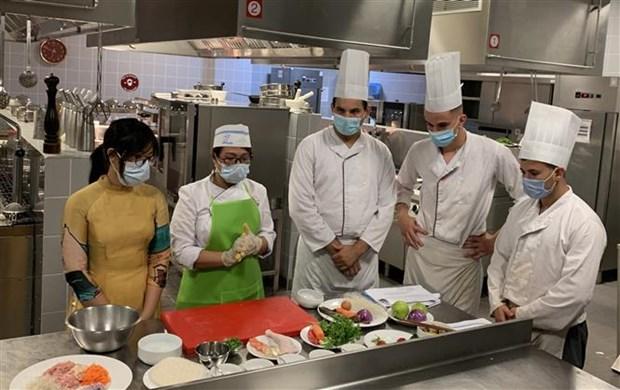 Cuisine vietnamienne promue en Algérie Hin An1