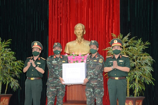 Ceremony held to send off Vietnamese artillery team to 2021 Int'l Army Games hinh anh 1