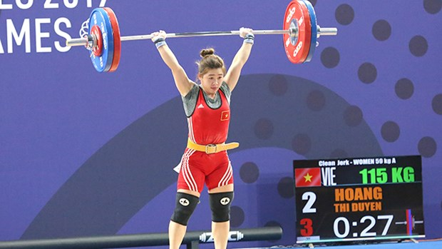 Vietnam pins hope on female weightlifter at Tokyo 2020 Olympics hinh anh 1