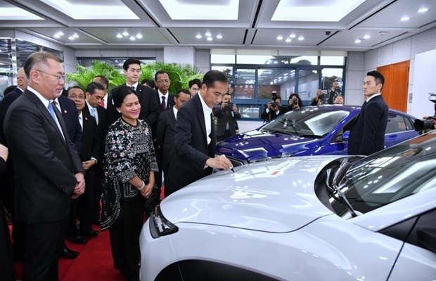 Indonesia plans to produce 600,000 electric cars by 2030 hinh anh 1