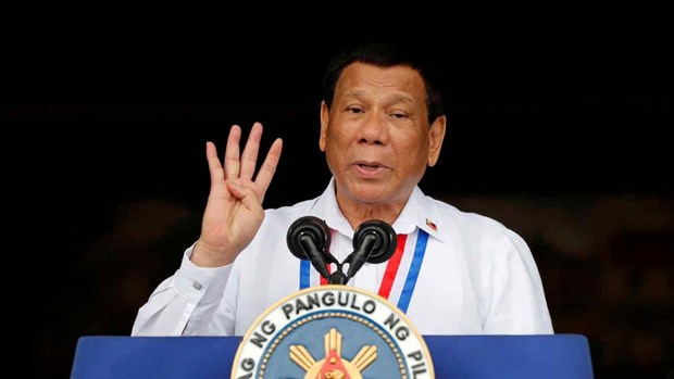 Philippine President delivers final State of Nation Address hinh anh 1