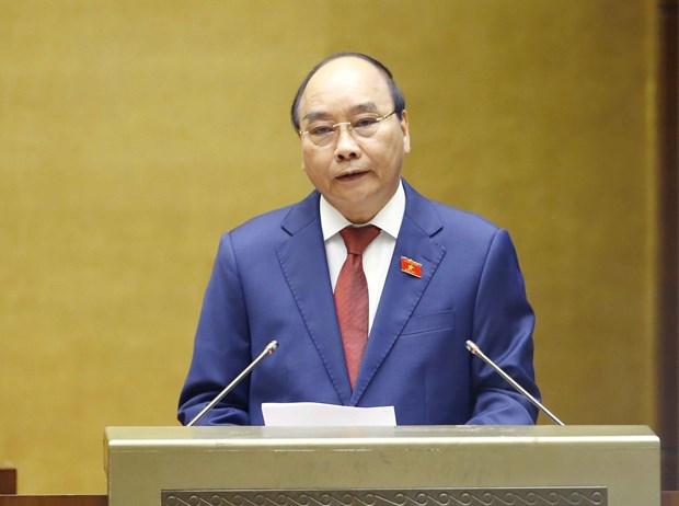 DPRK leader congratulates President Nguyen Xuan Phuc hinh anh 1