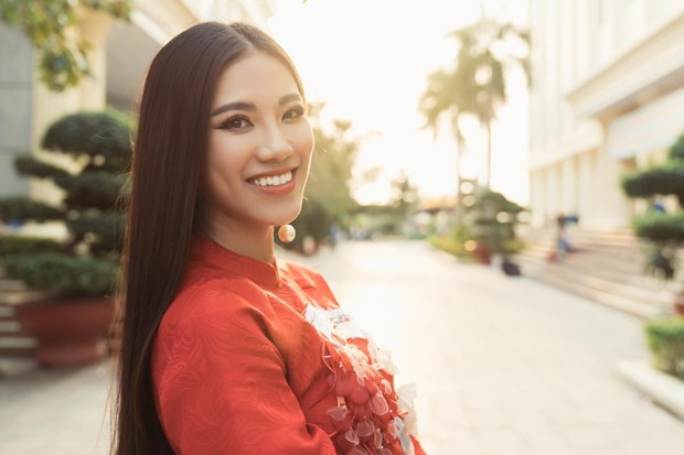 Kim Duyen to compete at Miss Universe 2021 in Israel hinh anh 2