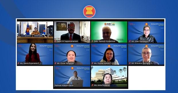 ASEAN kicks off RCEP webinar series hinh anh 1