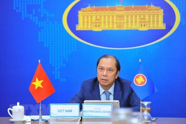 Senior officials talk preparations for 54th ASEAN Foreign Ministers' Meeting hinh anh 1