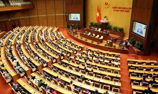 15th National Assembly's first session a success hinh anh 1