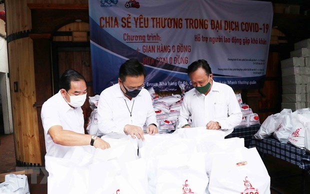 Vietnamese expats directly contribute to COVID-19 combat at home: official hinh anh 1