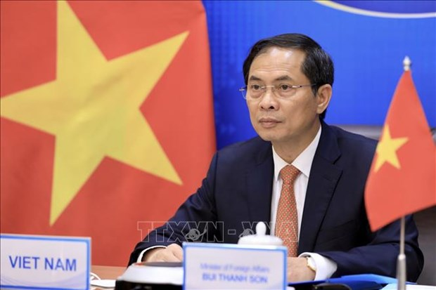 Newly-appointed Foreign Minister receives congratulations from China hinh anh 1