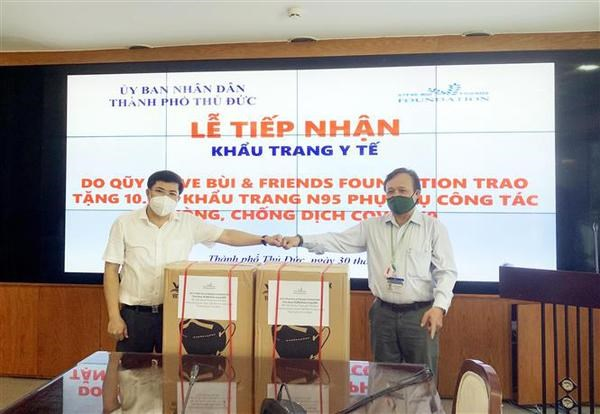 Vietnamese community abroad supports HCM City in fighting COVID-19 hinh anh 1