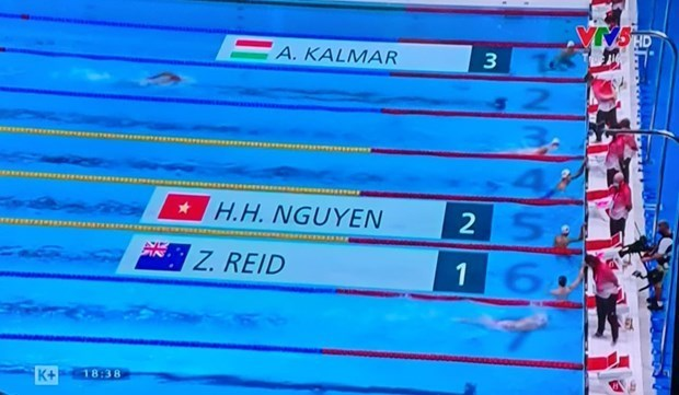 Swimmer Nguyen Huy Hoang to compete in men's 1500m freestyle hinh anh 1