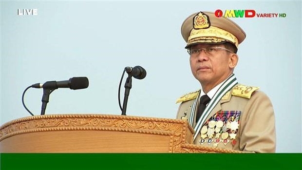 Myanmar pledges to cooperate with ASEAN's special envoy hinh anh 1