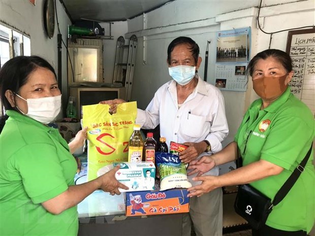 HCM City: Over 365,000 people benefit from COVID-19 support packages hinh anh 1