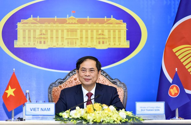 Vietnam attends 54th ASEAN Foreign Ministers' Meeting hinh anh 2