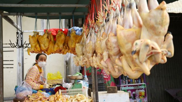 Cambodia's inflation rate stands at 2.5 percent in H1 hinh anh 1