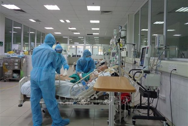 Officials check progress of intensive care centres in HCM City hinh anh 1