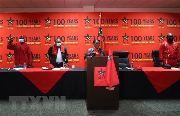 Vietnam congratulates South African Communist Party on 100th anniversary hinh anh 1