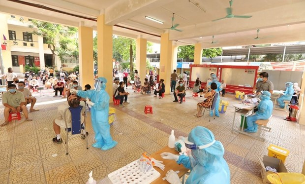 Over 3,200 COVID-19 cases added to national tally on early August 2 hinh anh 1