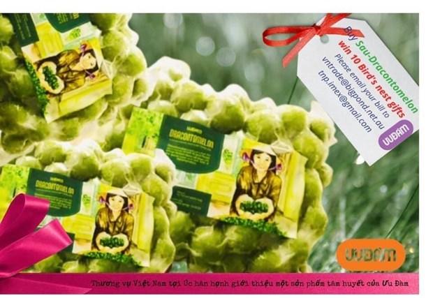 Vietnam exports 22 tonnes of frozen Indochina Dragonplum fruit to Australia hinh anh 1