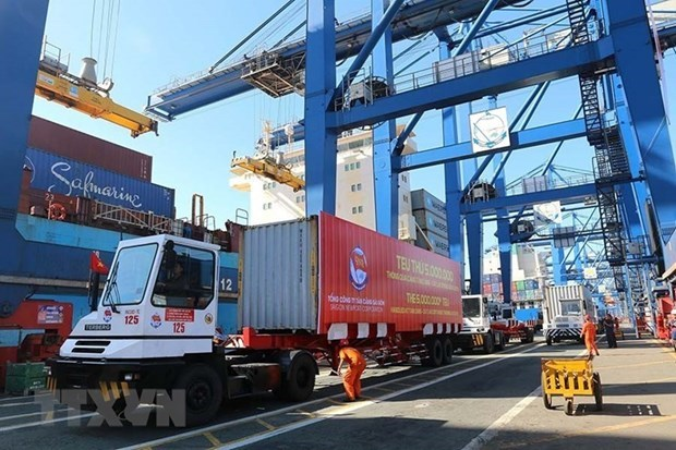 HCM City's port stops receiving imports as containers pile up hinh anh 1