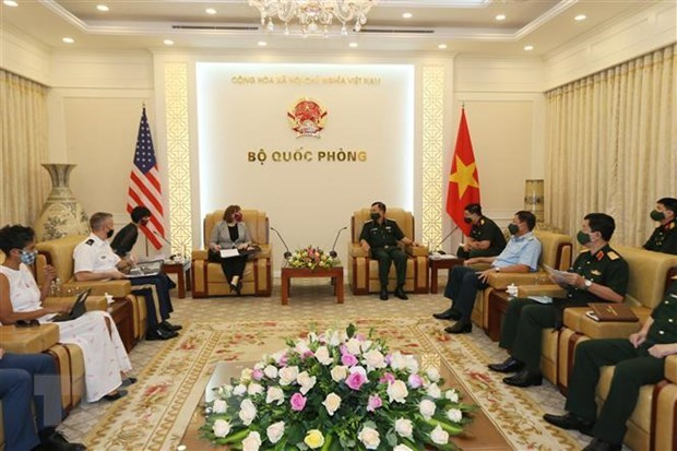 Vietnam, US continue to cooperate to address post-war consequences hinh anh 1