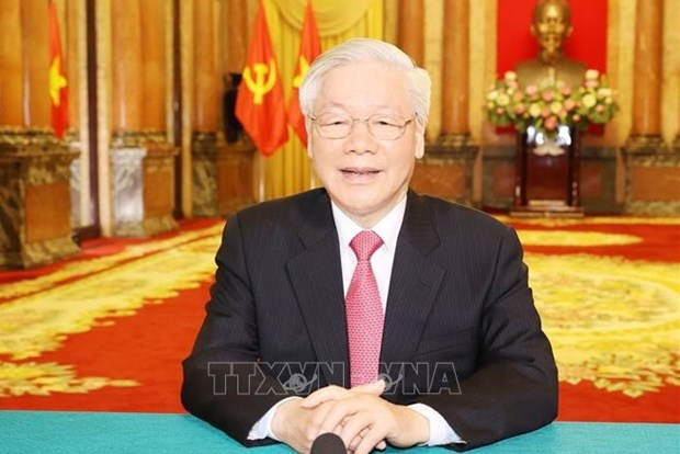 Party chief's article asserts CPV's sound vision: Algerian expert hinh anh 1