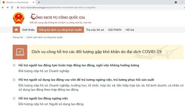 Online support services offered for COVID-19 hit businesses, workers hinh anh 1