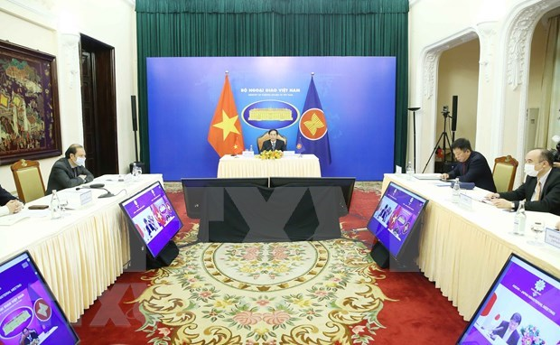 Vietnam co-chairs ASEAN-Japan Foreign Ministers' Meeting hinh anh 1