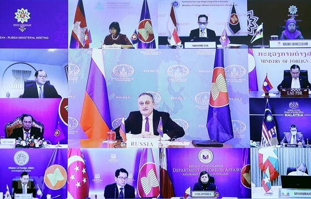 ASEAN, Russia hold Foreign Ministers' Meeting hinh anh 1