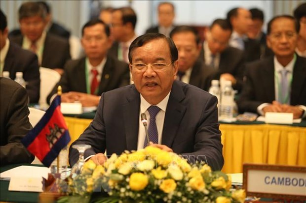 Cambodia ready to work with US within Mekong River frameworks: official hinh anh 1