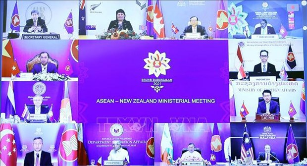ASEAN, New Zealand joins hands to ensure regional peace, stability hinh anh 1
