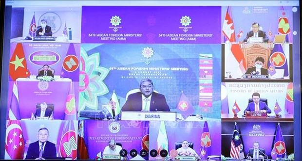 ASEAN calls for making COVID-19 vaccines global public goods hinh anh 1