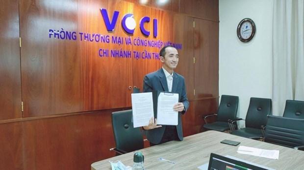 Action programme of Vietnam, Netherlands Business Platform for Mekong Delta signed hinh anh 1