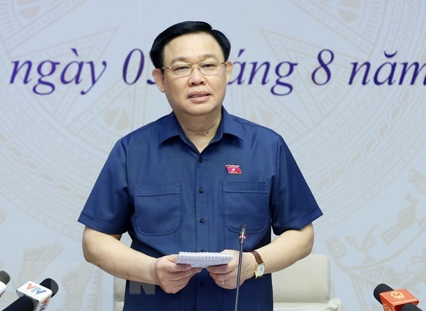 Top legislator holds online meeting with Hai Phong voters hinh anh 1