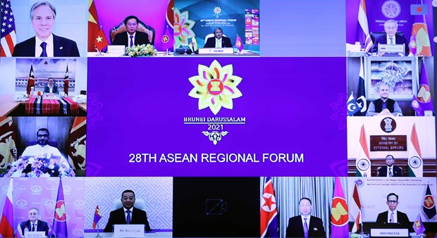 28th ASEAN Regional Forum spotlights dialogue, responsibility, cooperation goodwill hinh anh 2