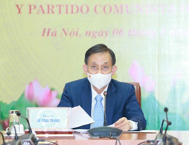 Vietnamese, Chilean Parties beef up cooperation hinh anh 1