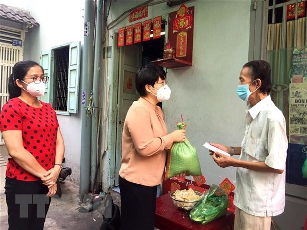 HCM City completes disbursement of first support package for COVID-19-hit people hinh anh 1