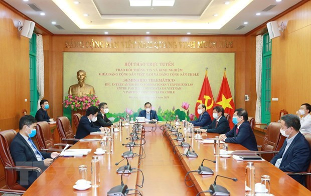 Vietnamese, Chilean Parties beef up cooperation hinh anh 2