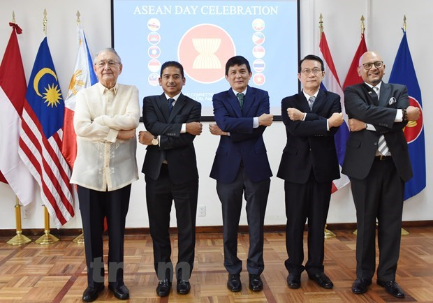 ASEAN's 54th founding anniversary marked in Mexico hinh anh 3