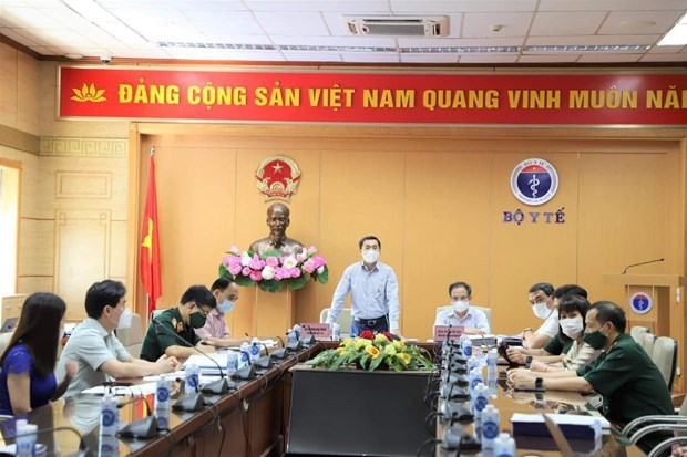 Urgent meeting held to evaluate homegrown COVID-19 vaccine Nano Covax hinh anh 1