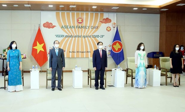 ASEAN Family Day 2021 held virtually in Hanoi hinh anh 1