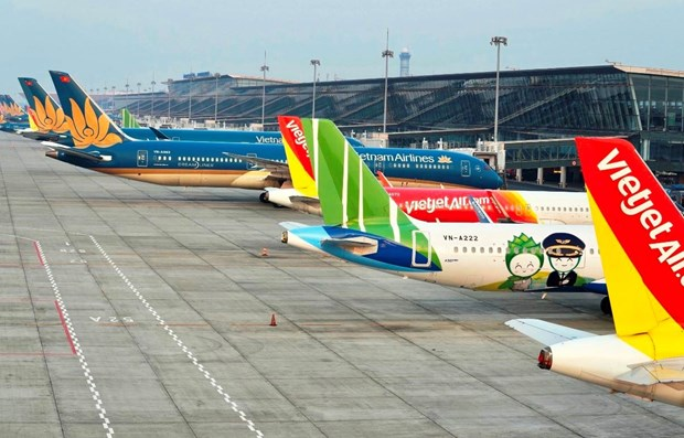 CAAV proposes halting flights between localities applying social distancing hinh anh 1