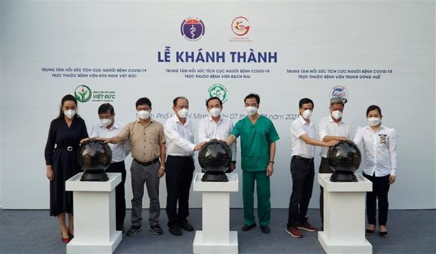 Three intensive care centres open in HCM City hinh anh 1