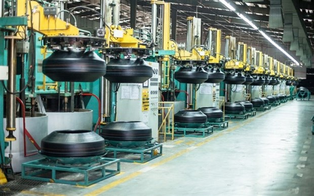 Rubber companies enjoy rising earnings despite higher costs of materials hinh anh 1