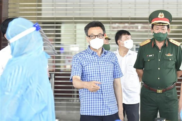 Deputy PM urges Kien Giang to speed up COVID-19 screening, testing hinh anh 1