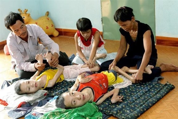 Impact of catastrophic Agent Orange disaster still lingers hinh anh 2
