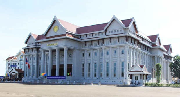 Ceremony held to hand over new Lao NA House hinh anh 1