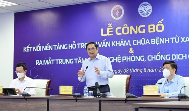 Government leader confirms significance of telehealth system hinh anh 1